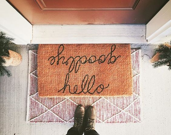 Layered Doormats Are The Hottest Trend To Hit Your Front