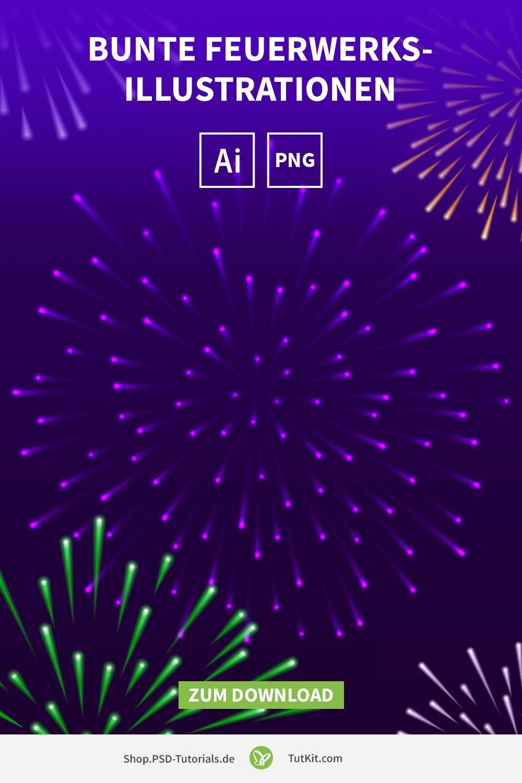 Feuerwerk Silvester Illustrationen Download Vektoren Pixel In 2020 Illustration Feuerwerk Bilder Kreatives Design