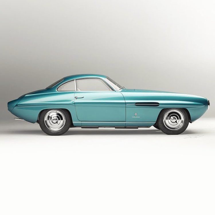 Fiat 8V Supersonic Coupe (Ghia) 53'