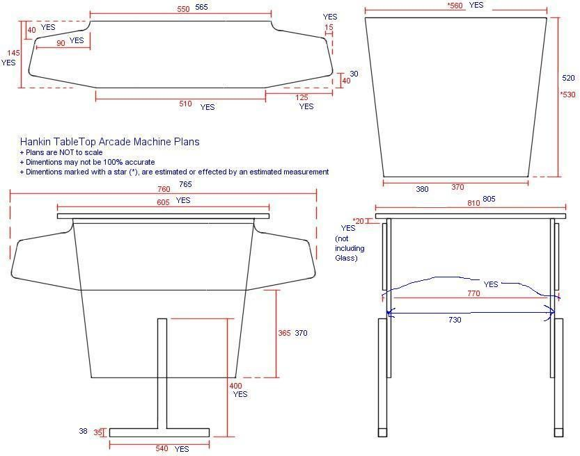 slot machine stand plans