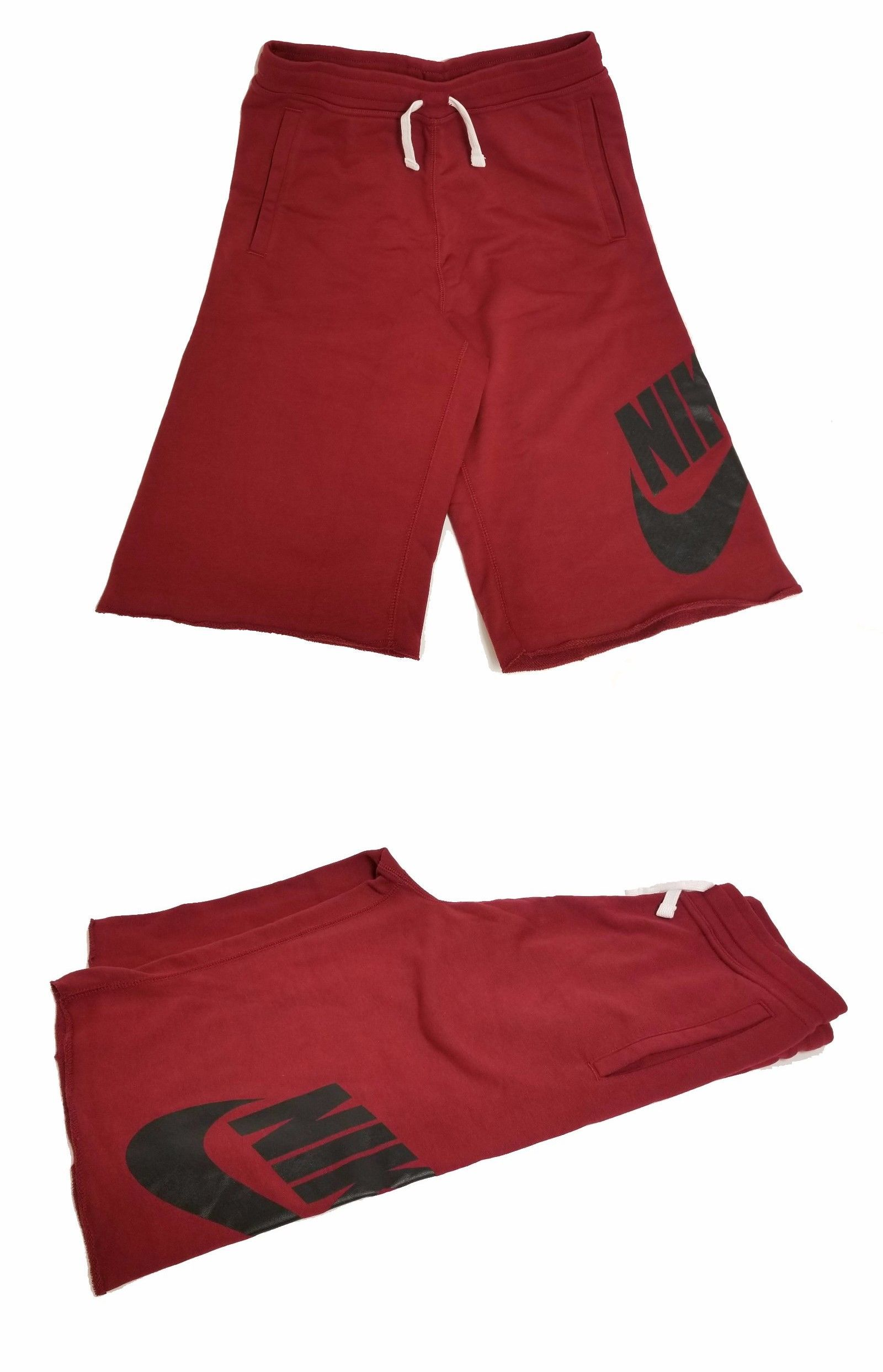 f478672a80 Shorts 175655: Nike Big Kids Sportswear French Terry Alumni Shorts Team Red  728206-678 B -> BUY IT NOW ONLY: $27.99 on #eBay #shorts #sportswear #french  ...