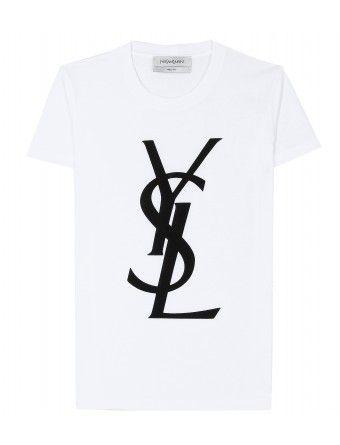 e88d0dc9b Yves Saint Laurent - LOGO T-SHIRT