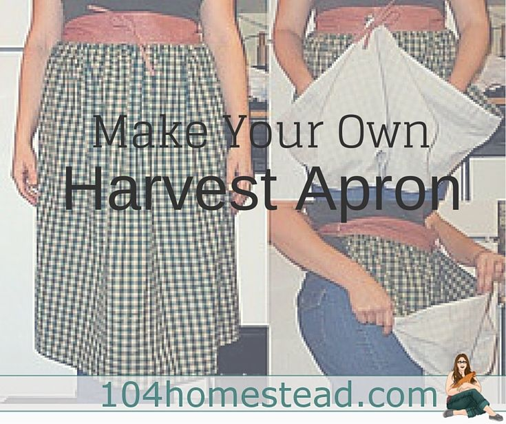 A Harvest Aprons Is Great For Gathering Up The Produce You Collect In Your  Garden.