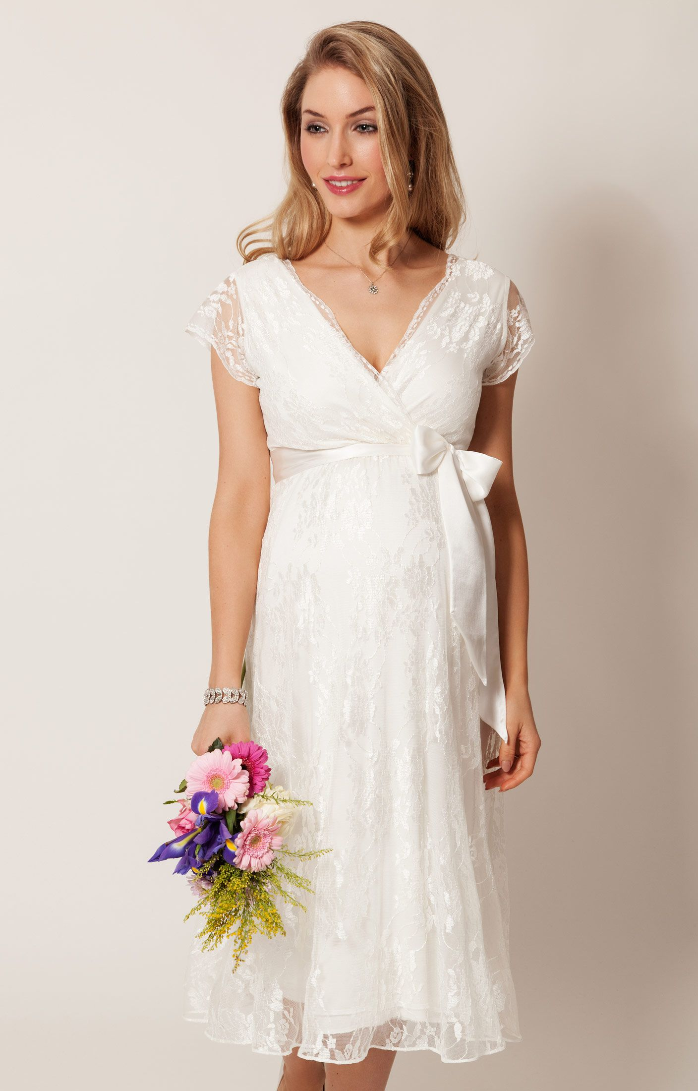 Eden gown short ivory wedding dress and weddings