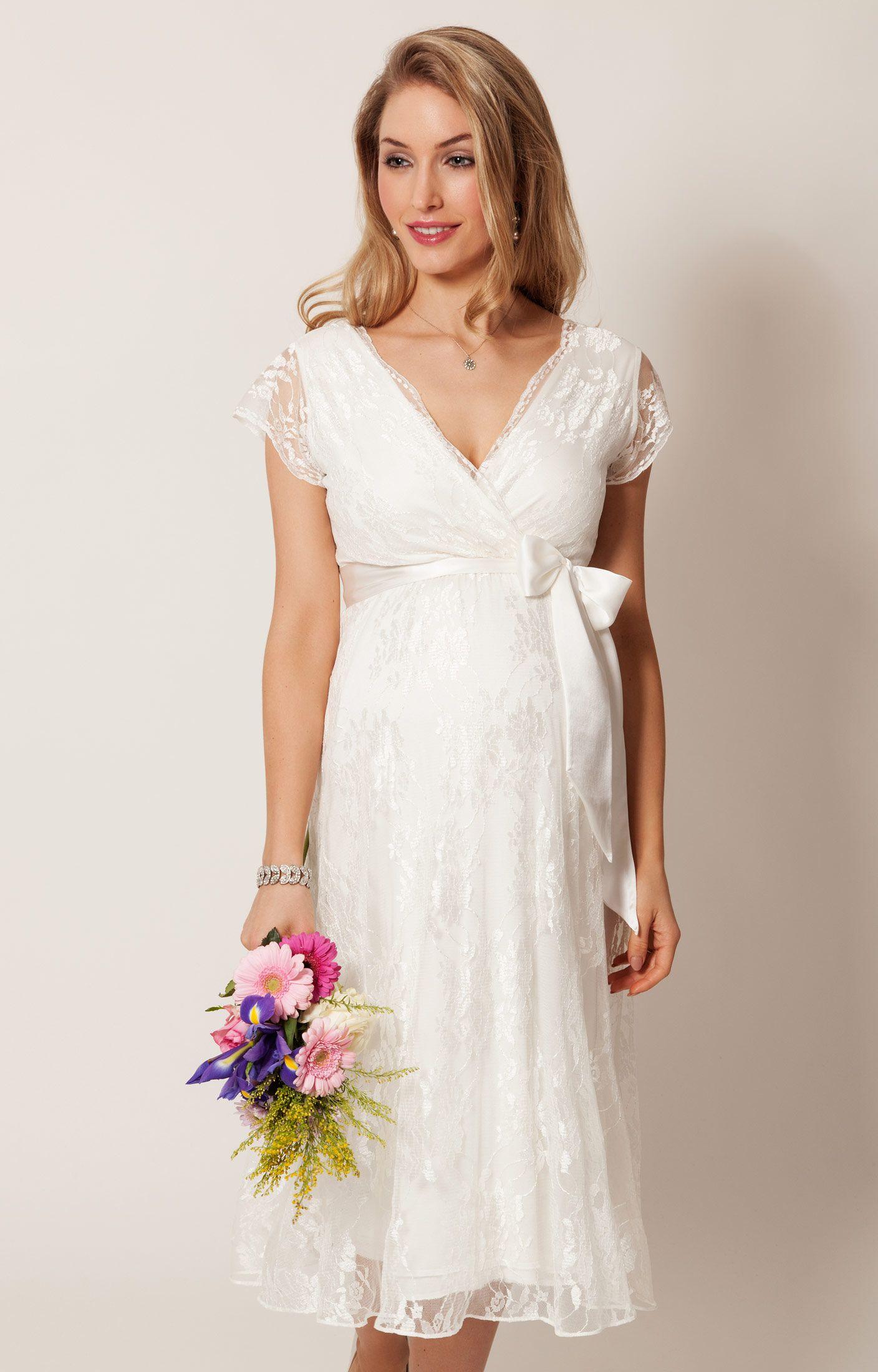 Eden Gown Short  Ivory Wedding dress and Weddings
