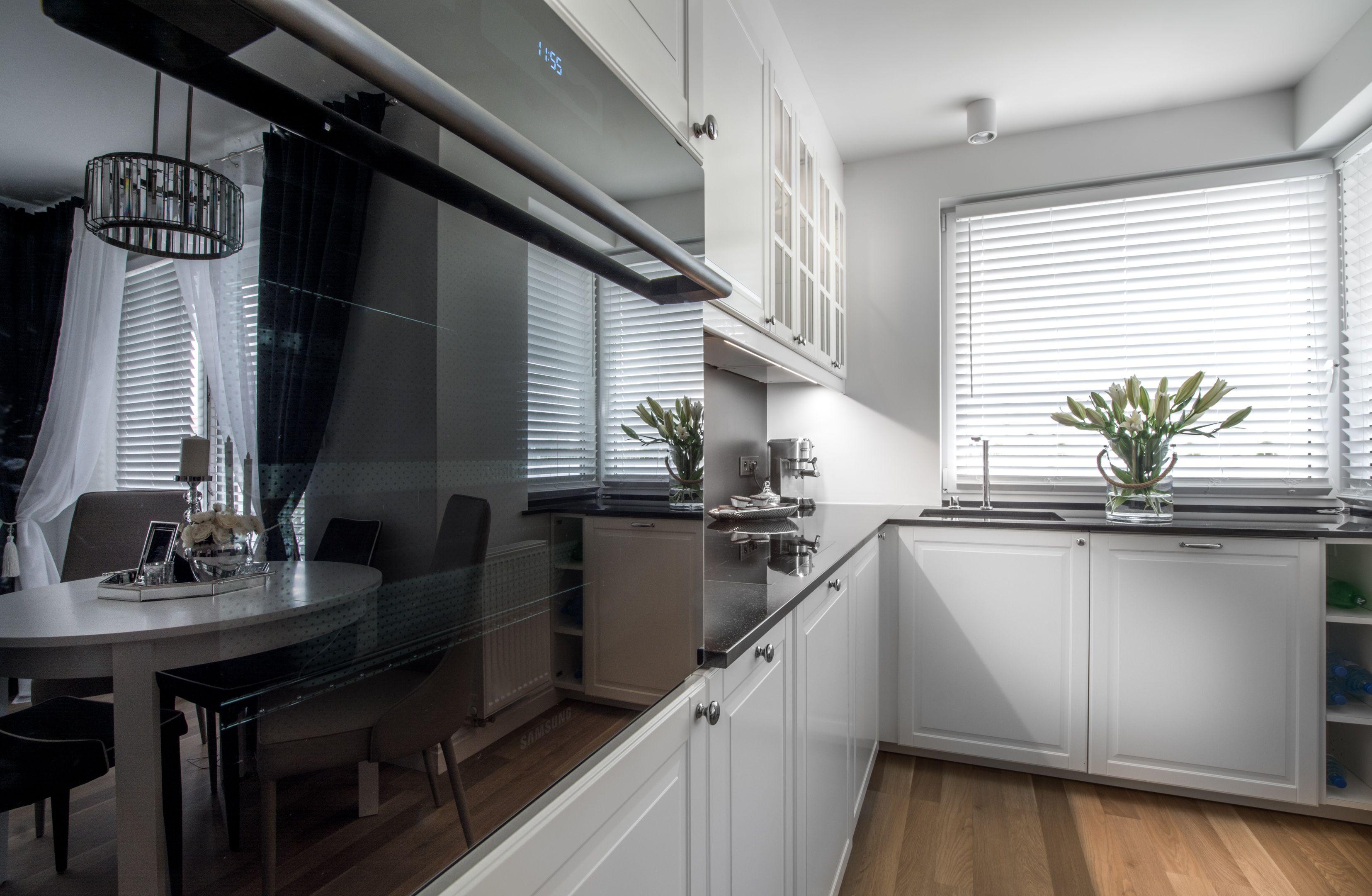 Styl Nowojorski Mieszkanie Projektantki Proj M Projekty Ih Internity Home Home Decor Kitchen Cabinets Decor
