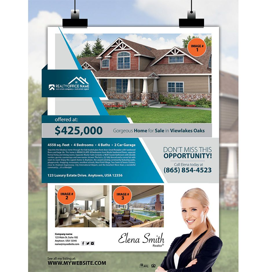 Real Estate Flyers Templates Realty Flyers Real Estate Agent Flyer Real Estate Flyers Real Estate Landing Pages Real estate agent flyer template