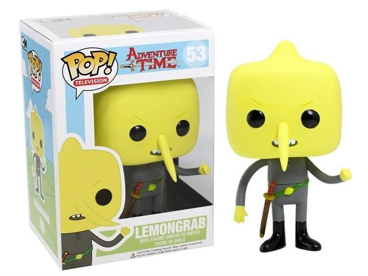 Pop Television Lemongrab Adventure Time Bobble Heads Pop Vinyl Figures Vinyl Figures Funko Pop Tv
