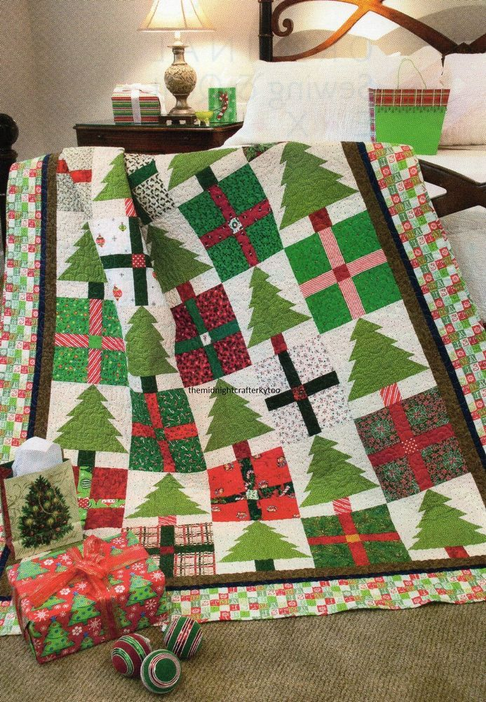 Pines Presents Quilt Pattern Pieced Dm Pine Patterns And Patchwork