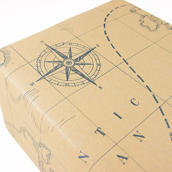 NEW: Wrapping paper treasure map with a lot of details to ...