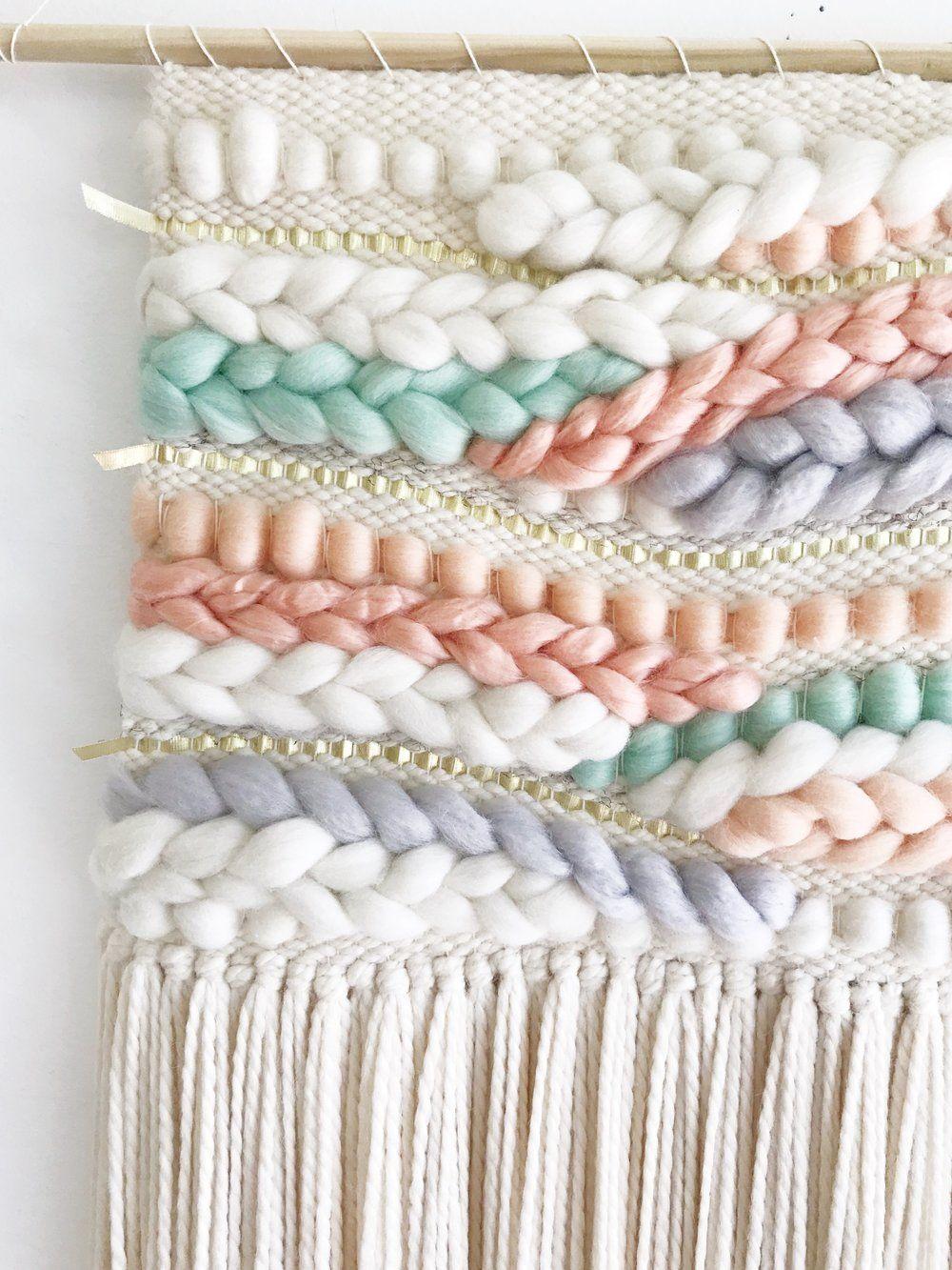 Pastel Rainbow Weaving — sunwoven