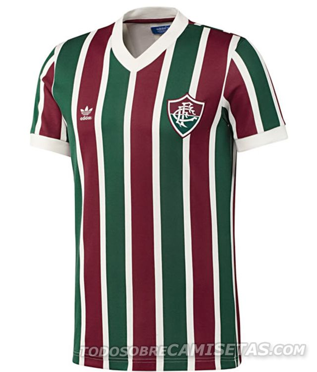 Todo Sobre Camisetas  Modelos Originals de Adidas para Palmeiras y  Fluminense d4c614d99288a