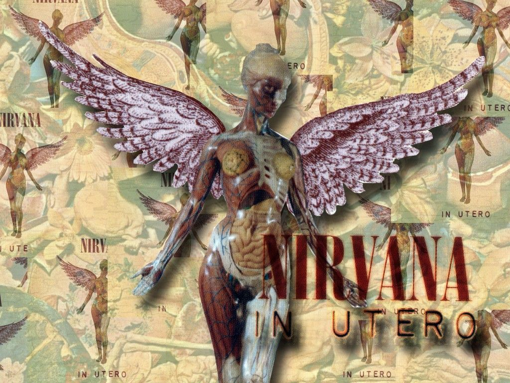 Nirvana In Utero Background Wallpaper In 2019 Nirvana