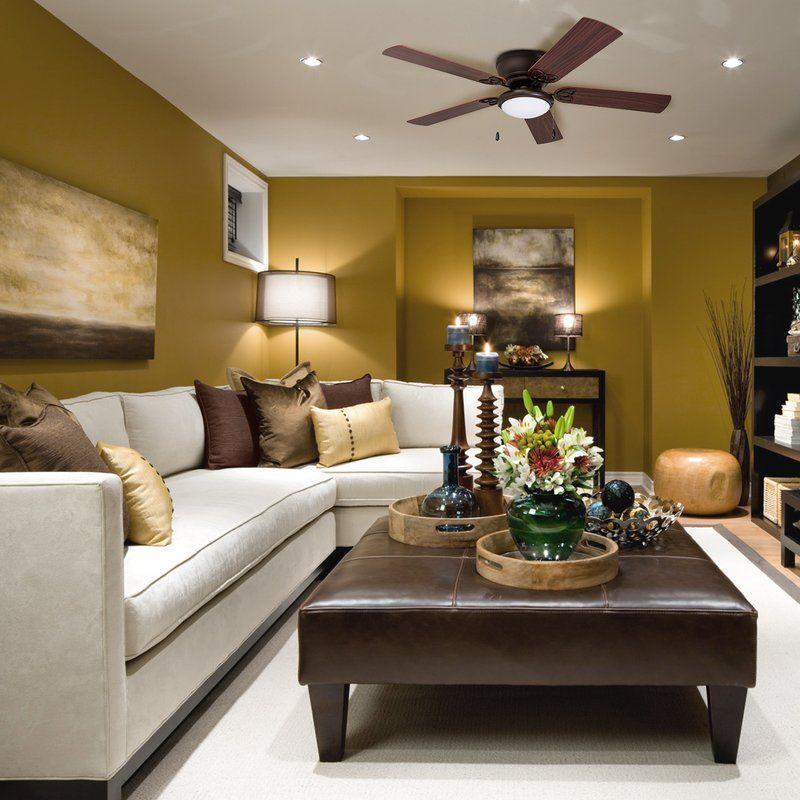52 Mattias 5 Blade Ceiling Fan Light Kit Included Living Room