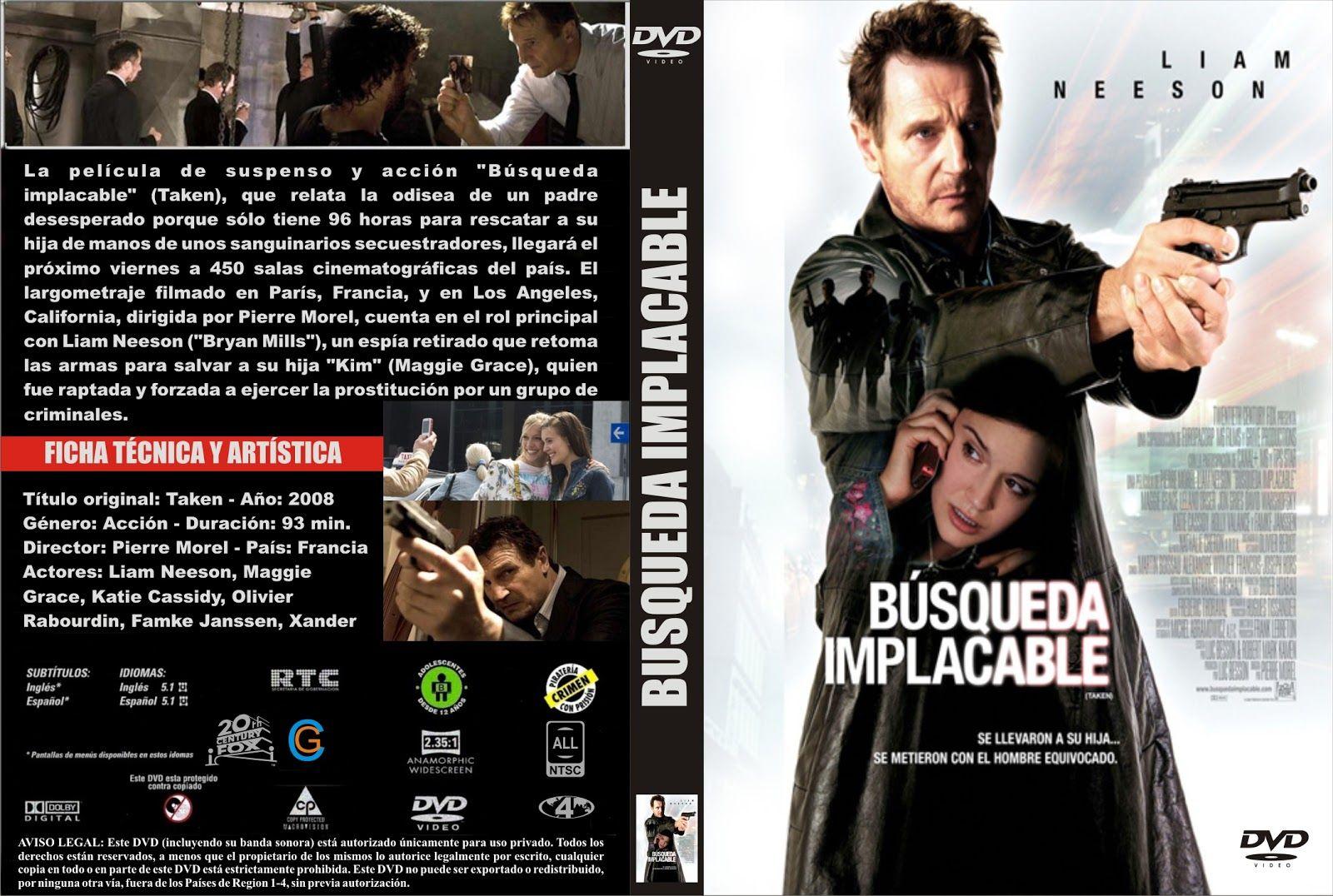 Busqueda Implacable Peliculas De Suspenso Liam Neeson Peliculas