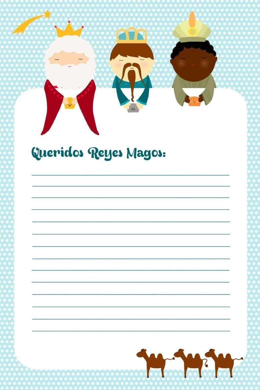 Dias De Reyes Magos Descargar diseños cartas a los reyes magos para imprimir | carta a los