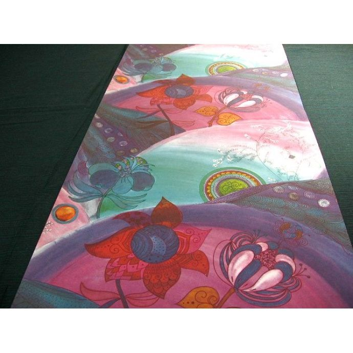 original 60s hippie wallpaper from www.thevintagegalaxy.com