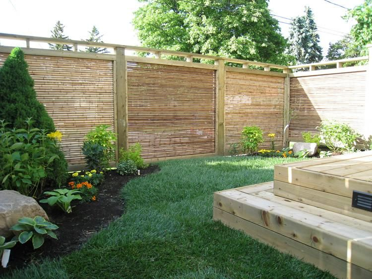 Bamboo fences in kingston ontario by jimmy dean bamboo for Garden design ideas ontario