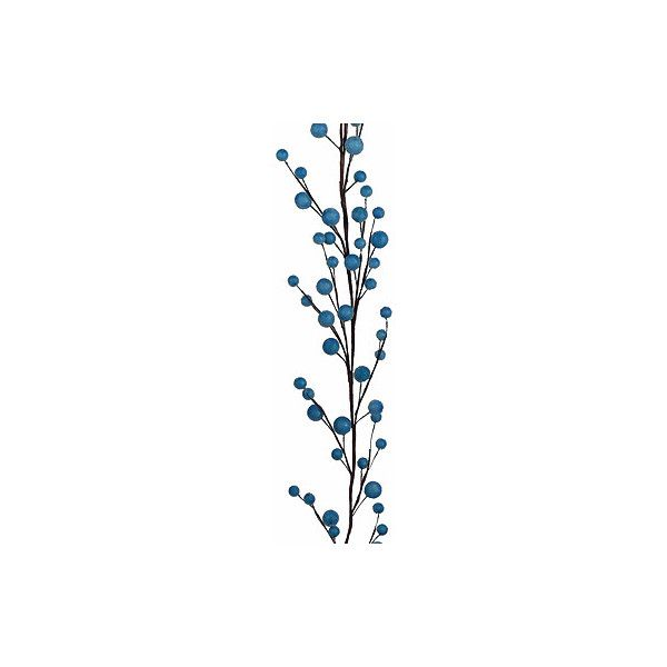 5ft Aqua Frost Berry Garland | Jamali Floral U0026 Garden Supplies (145.120  IDR) ❤