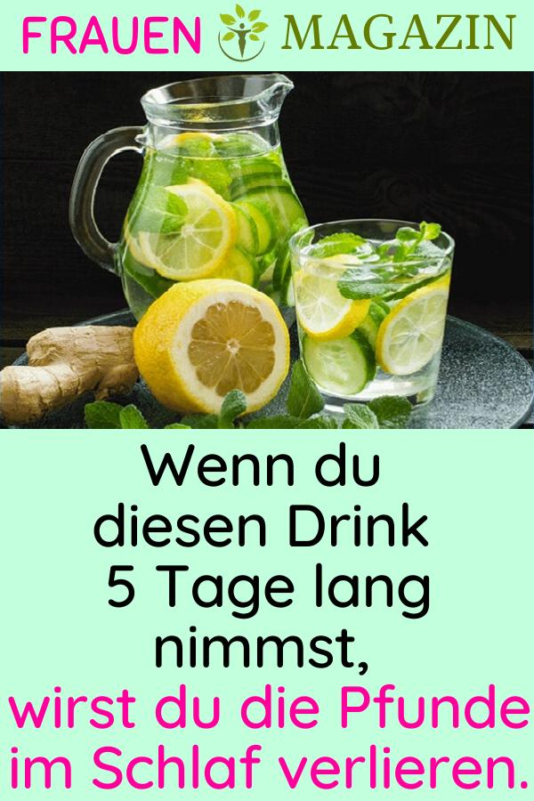 Photo of Wenn du diesen Drink 5 Tage lang nimmst, wirst du die Pfunde im Schlaf verlieren…