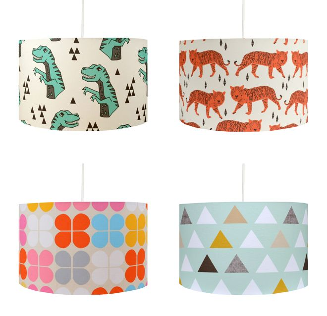 Children S Lamp Shades By Hunkydory Home Childrens Lamps