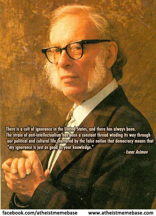 Isaac Asimov Love The Beard And The Statement Seems True Enough