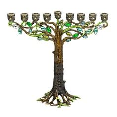 Olivia Riegel Tree Menorah