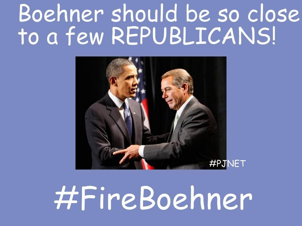 @RepMikeRogersAL The #GOP victory is meaningless if #Boehner is Speaker. Vote to #FireBoehner. #PJNET