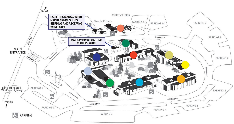 nouvelle collection nouveaux prix plus bas ramasser Map of the Cape Cod Community College campus | Nantucket ...