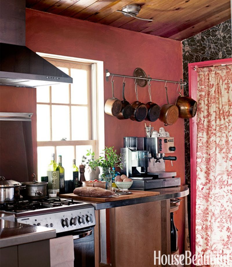 An Italophile Couple's Cozy Vermont Cottage Tuscan