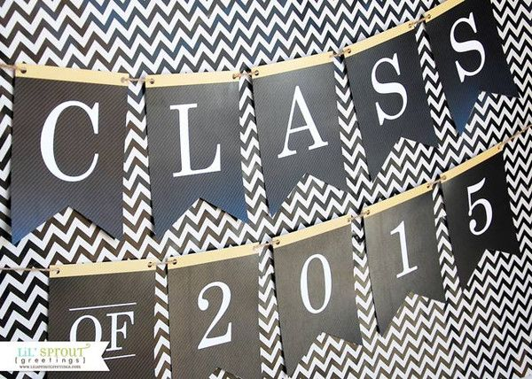 photo about Congratulations Banner Free Printable named No cost Printables for Commencement Grads grads grads