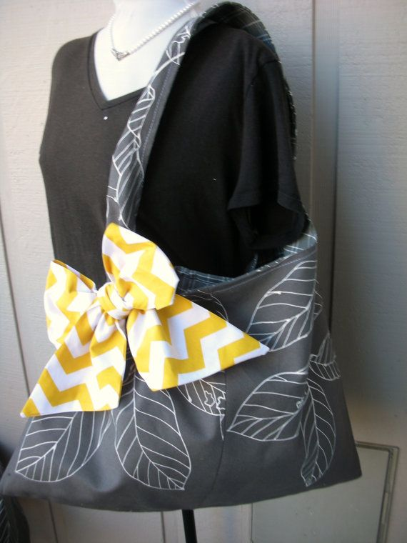 Handbag   Tote Bag  Book Bag  Handmade Canvas Bag  by AnniesAttic, $32.95