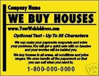 we buy houses postcards