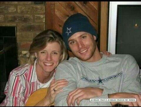 Jensen & his mom, Donna