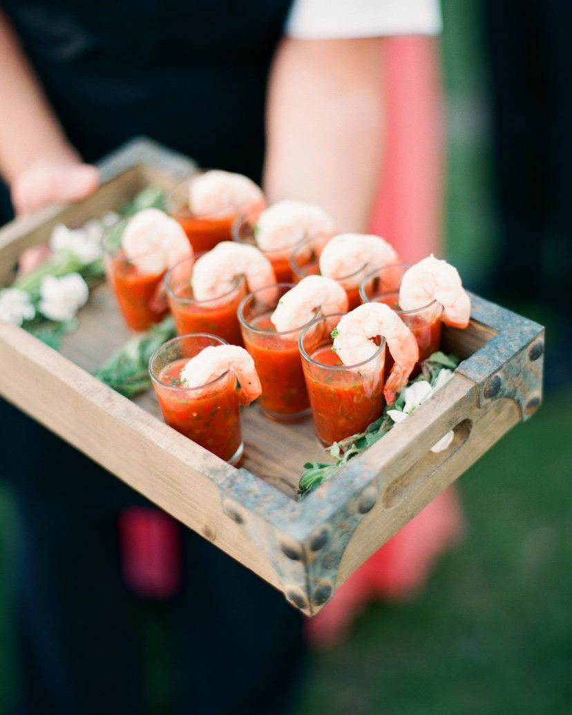 22 Genius Food And Drink Pairings For Your Wedding Wedding