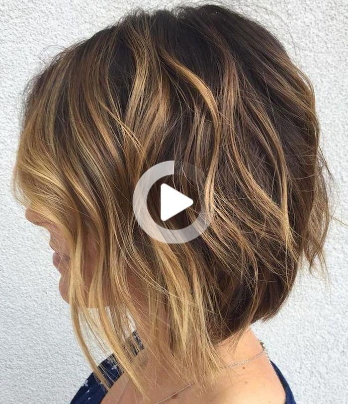 1001 idées en 2020 | Cheveux courts visage carré, Cheveux courts carré plongeant, Tutoriel ...