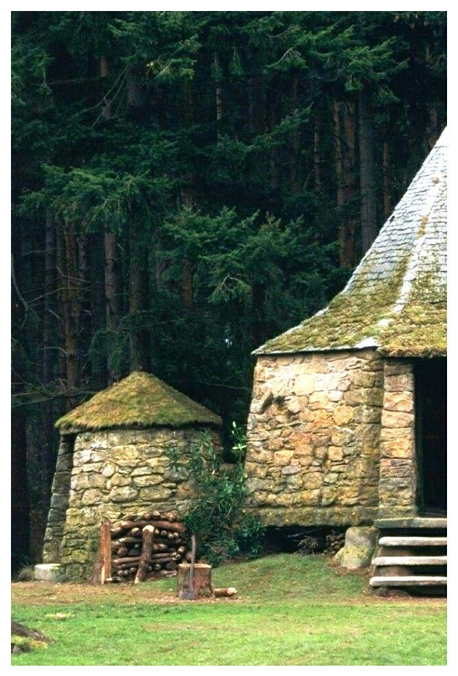 hagrid's house  harry potter wall harry potter aesthetic