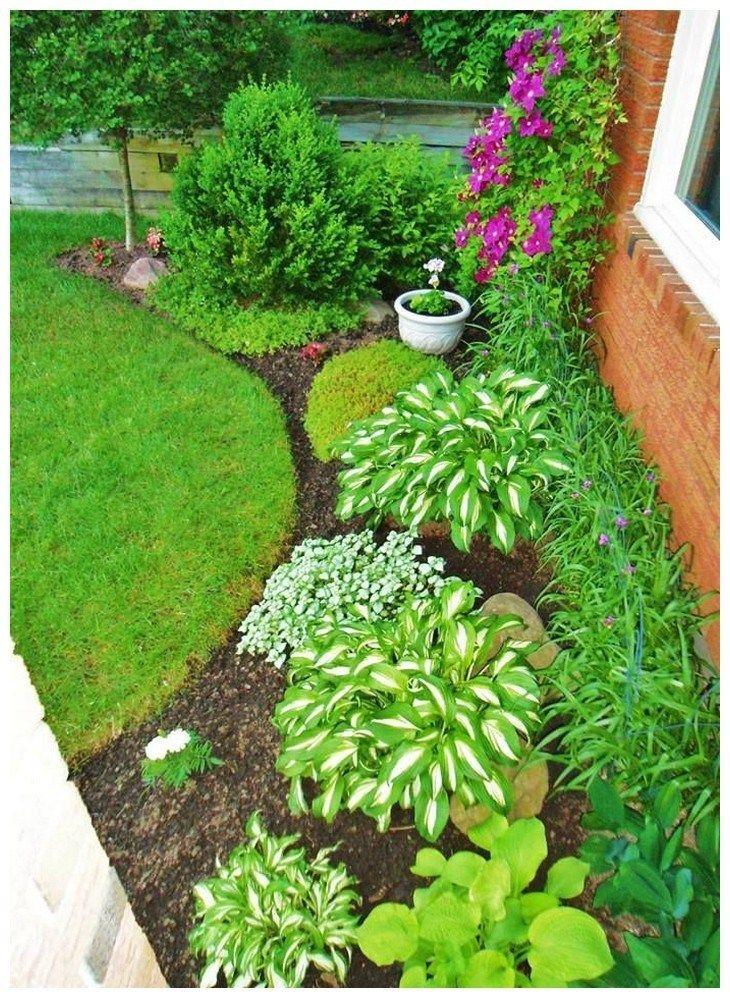 59 stunning front yard courtyard landscaping ideas 47 #frontyardlandscapedesign