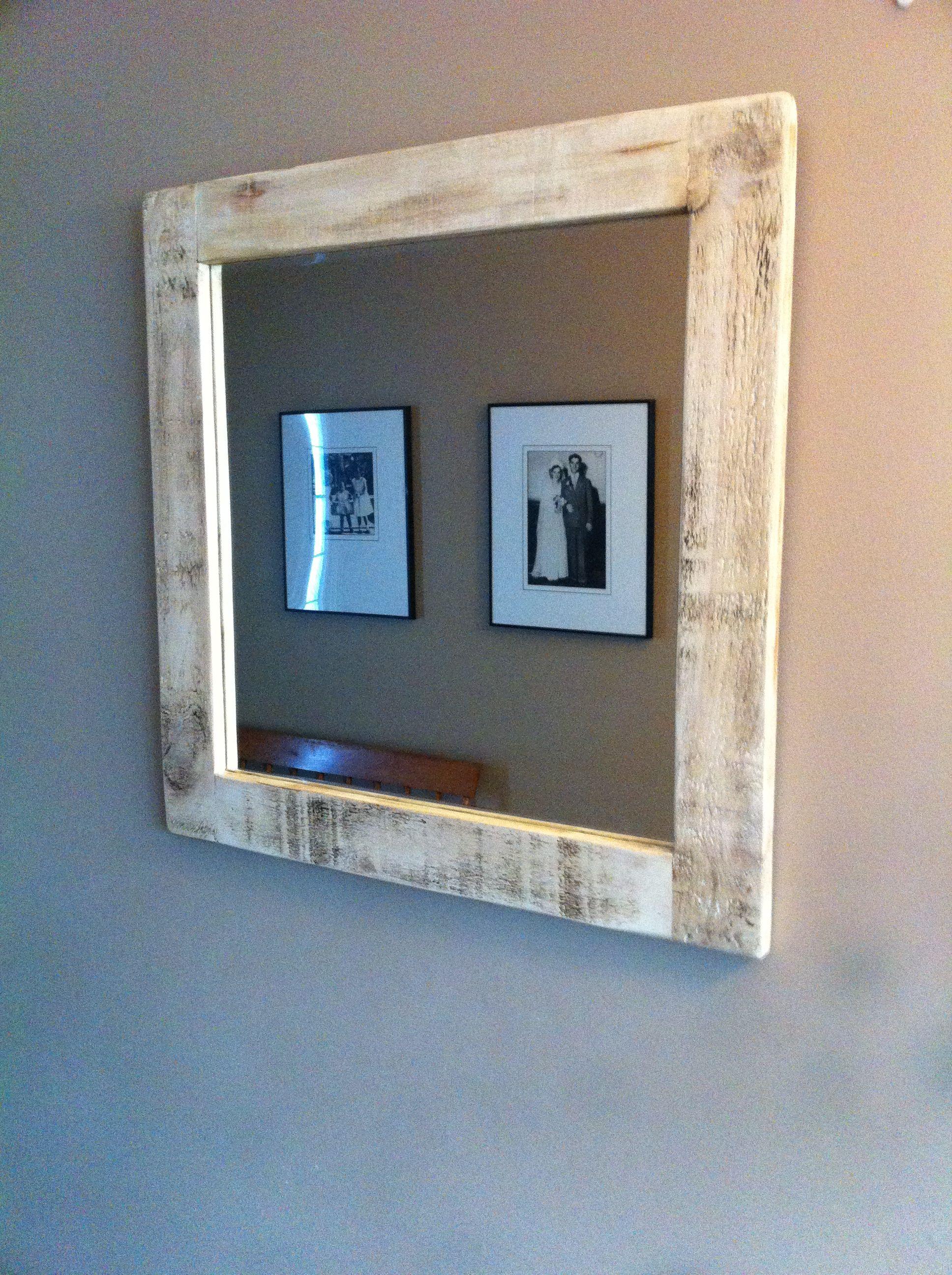 barn board mirror (With images) | Barn board mirror, Barn ...