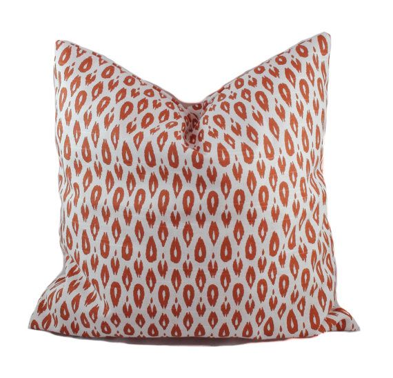 Orange Pillow Cover, 16x16, Throw Pillow, Accent Pillow, Couch Cushion, Sofa  Pillow, Decorative Pillow, Modern Pillow, Sofa Cushion