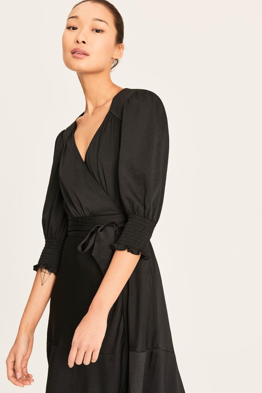Robe Game Noir Ba Sh Game Dresses Dresses Chic Dress [ 1304 x 870 Pixel ]