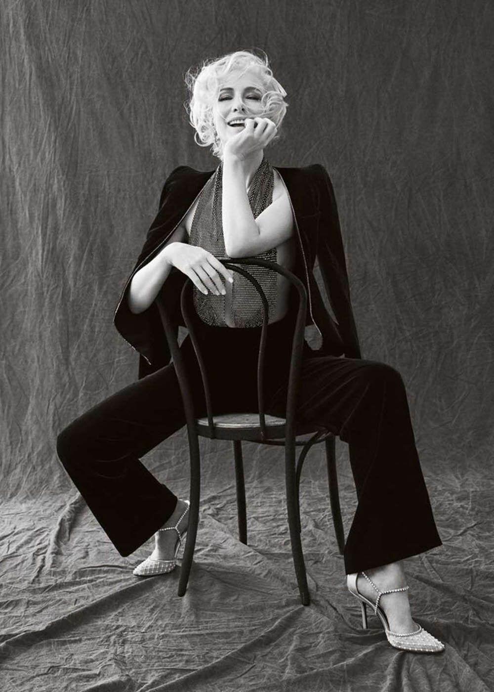 Cate Blanchett Talks Phyllis Schlafly Producing Mrs America