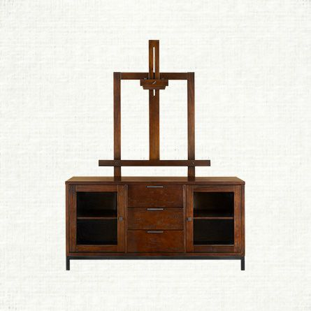 "awesome home colonial living room furniture tv stand | Arhaus Palmer Media Console 60"" wide X 76"" high $1648 ..."