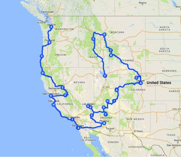 Your Perfect West American Road Trip - Modern Trekker