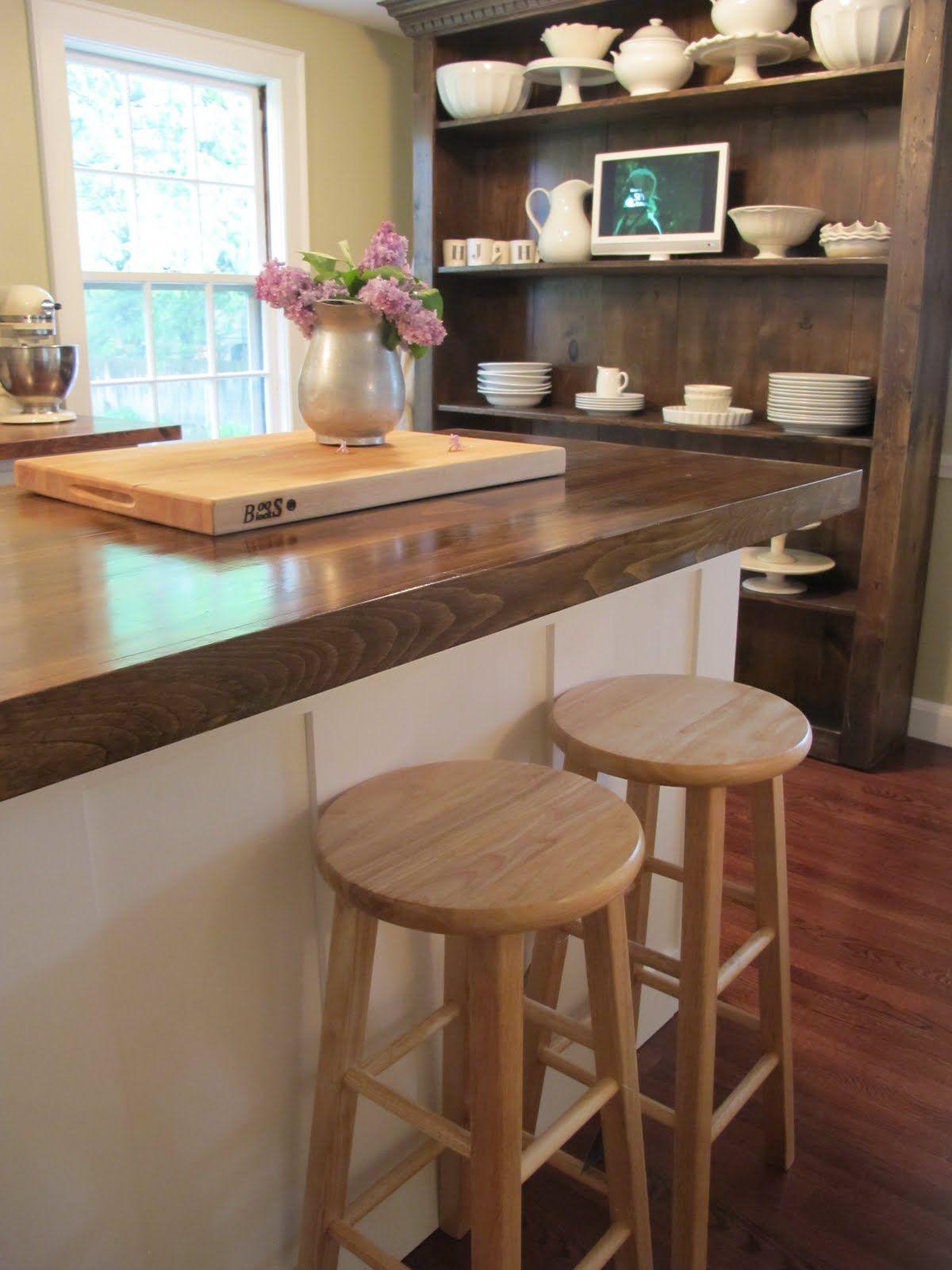 Jenny Steffens Hobick Kitchen Island DIY