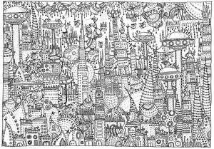 16 Id1 Jpg Abstract Coloring Pages Coloring Books Coloring Pages