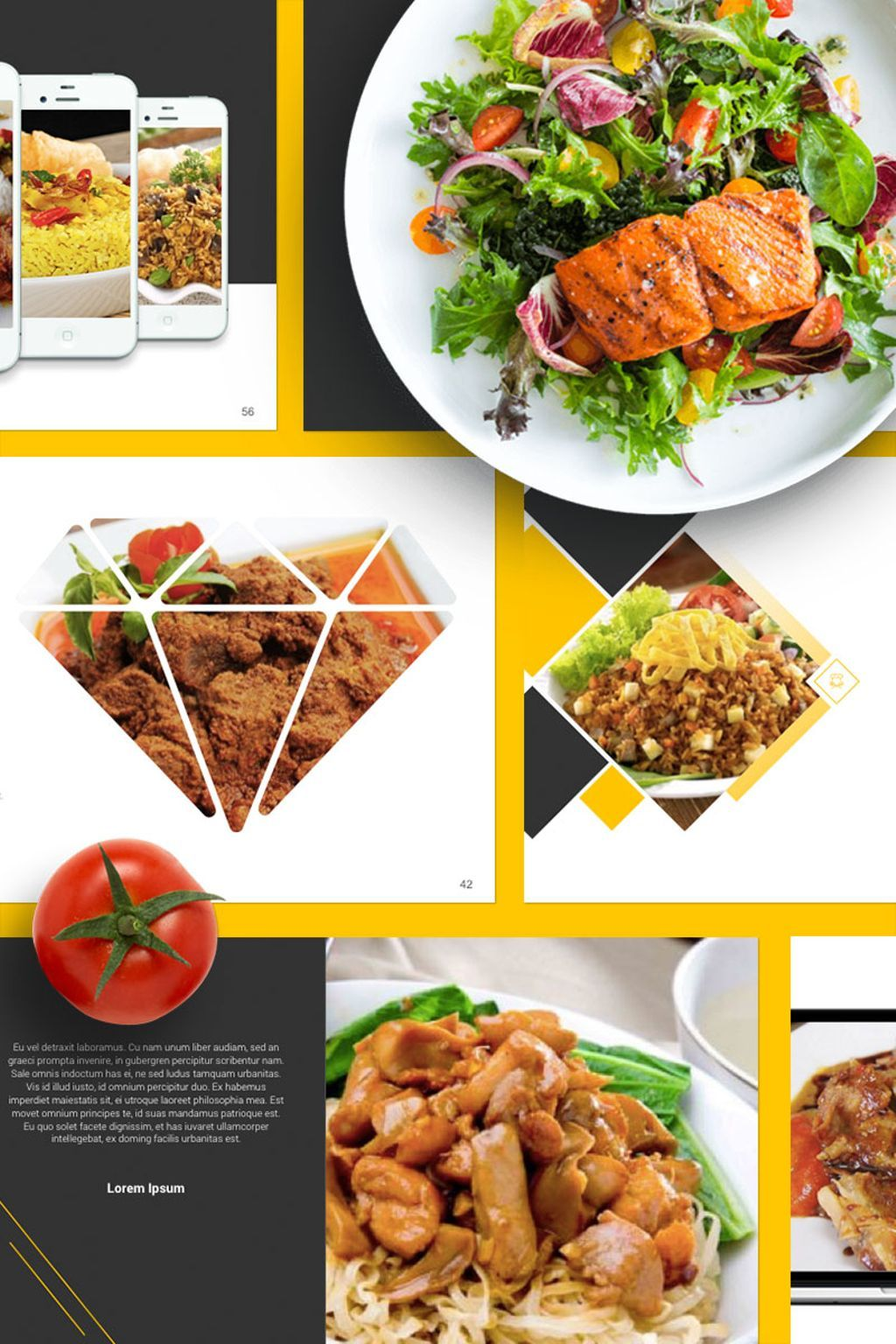 Food presentation powerpoint template powerpoint presentation food restaurant powerpoint presentation template is a modern presentation that is beautifully designed and functional forumfinder Images