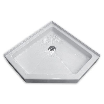 American Standard Town Square 38 X 38 Neo Angle Single Threshold