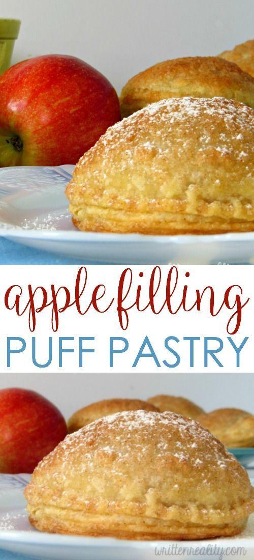 Apple Filling Puff Pastry Written Reality Recipe Filling Recipes Puff Pastry Desserts Puff Pastry Apple Pie