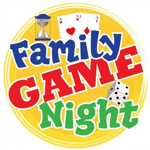 family game night clip art